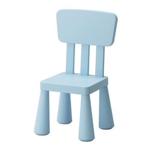 ikea mammut children 39 s kids chair plastic light blue pink green new ebay. Black Bedroom Furniture Sets. Home Design Ideas