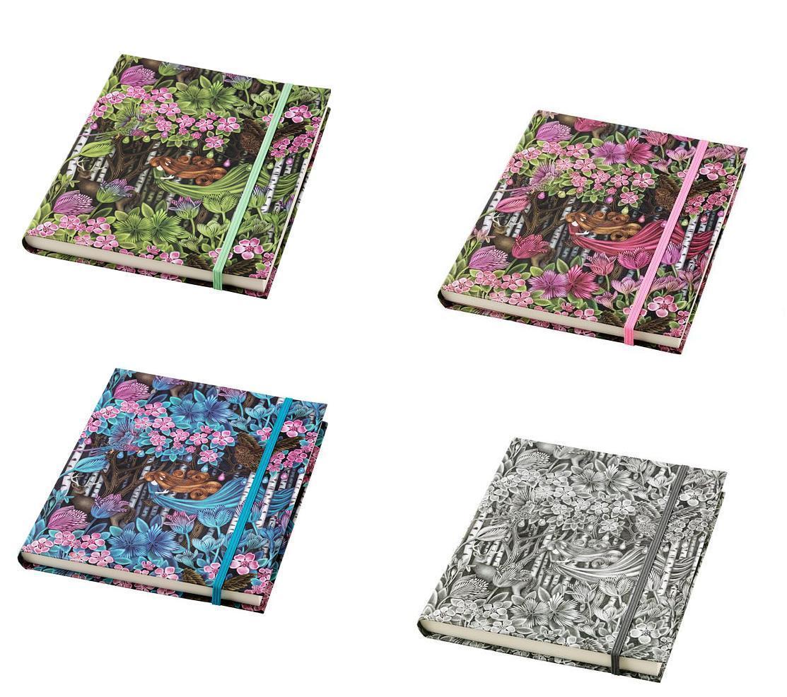 ikea vaxtgladje handmade notebook unlined 20 x 16cm or 14 x 9cm various ebay. Black Bedroom Furniture Sets. Home Design Ideas