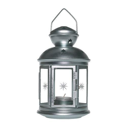 """Outdoor String Lights Ikea Uk: Ikea """"Rotera"""" Lamp, Lantern For Tea Lights"""
