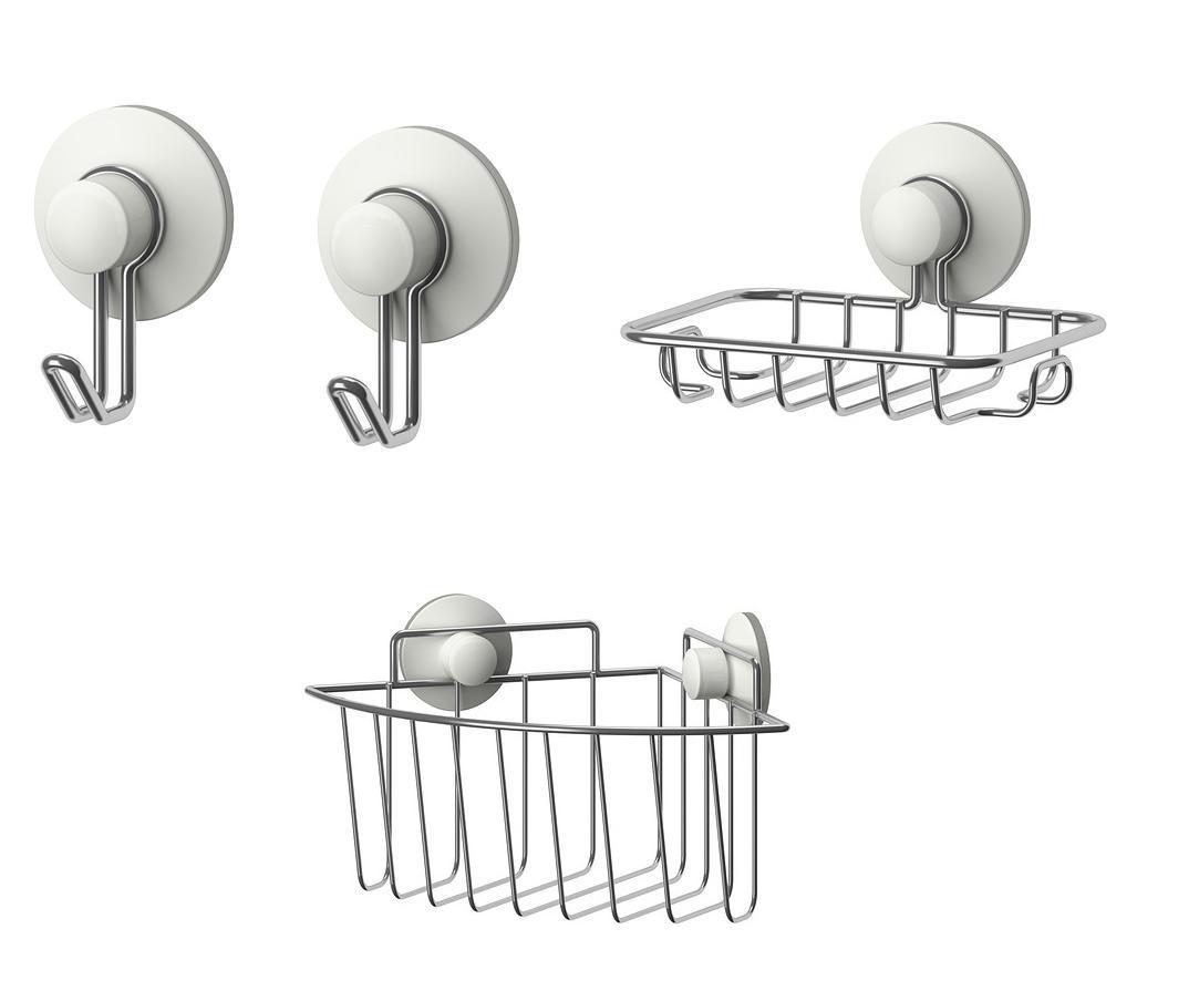 Ikea immeln series ventosa accessori bagno ganci for Accessori bagno a ventosa everloc