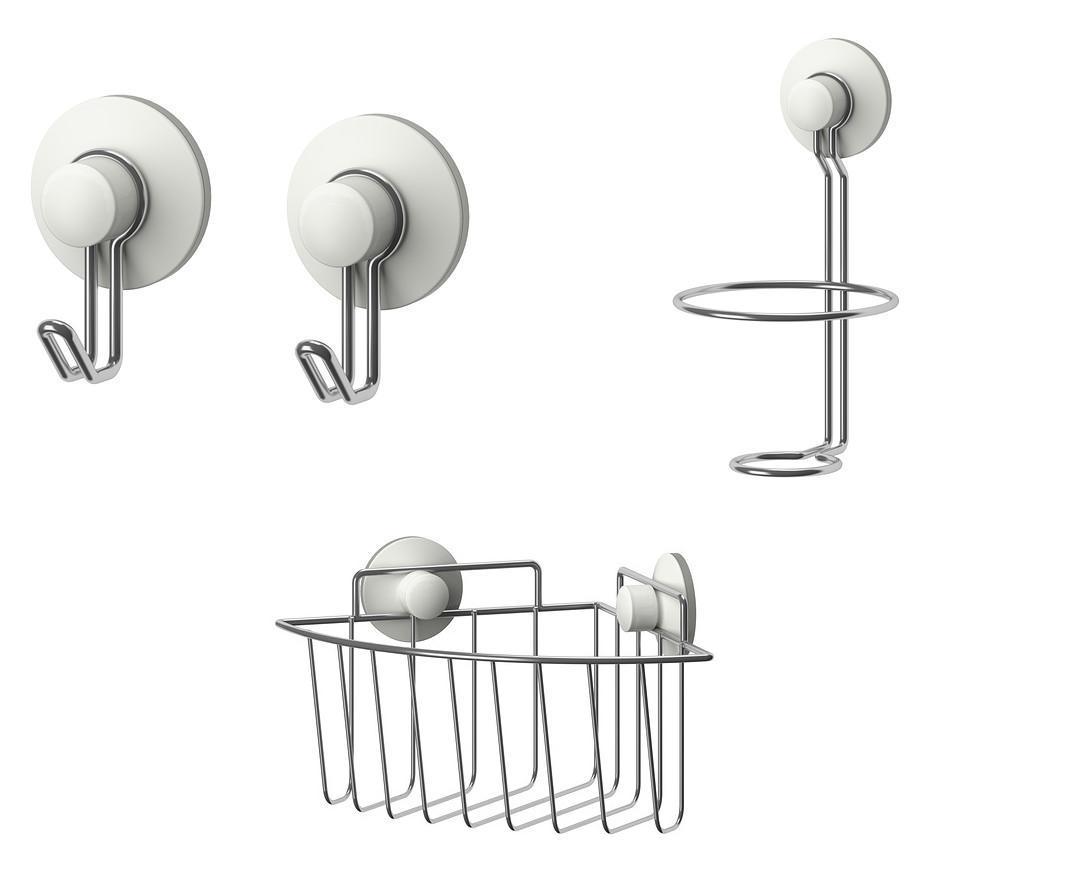 Accesorios bano ventosa dise os arquitect nicos for Aki accesorios bano