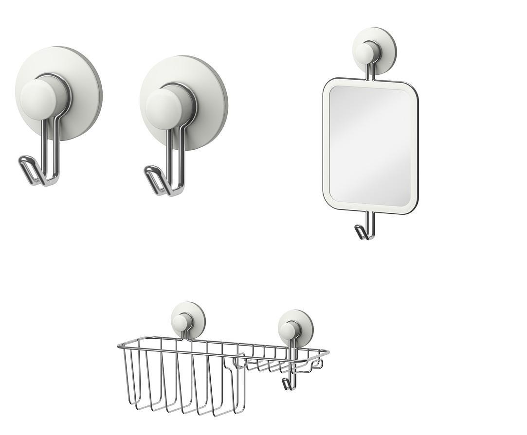 Ikea immeln series ventouse salle de bains accessoires for Accessoire salle de bain ventouse