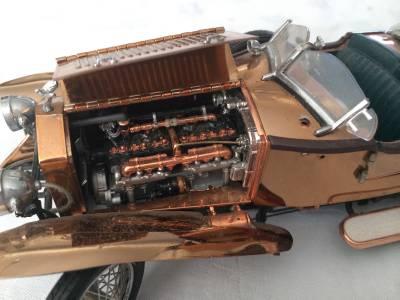 4 Franklin Mint Parts Repair Lot Rolls Royce Siver Ghost Phantom V 16 Cadillac