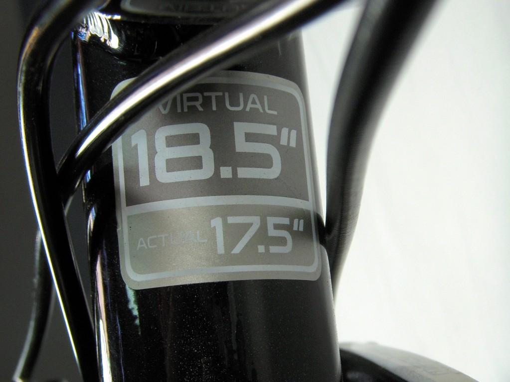 Trek Frame Size - Actual/Virtual - WTH? - Bike Forums