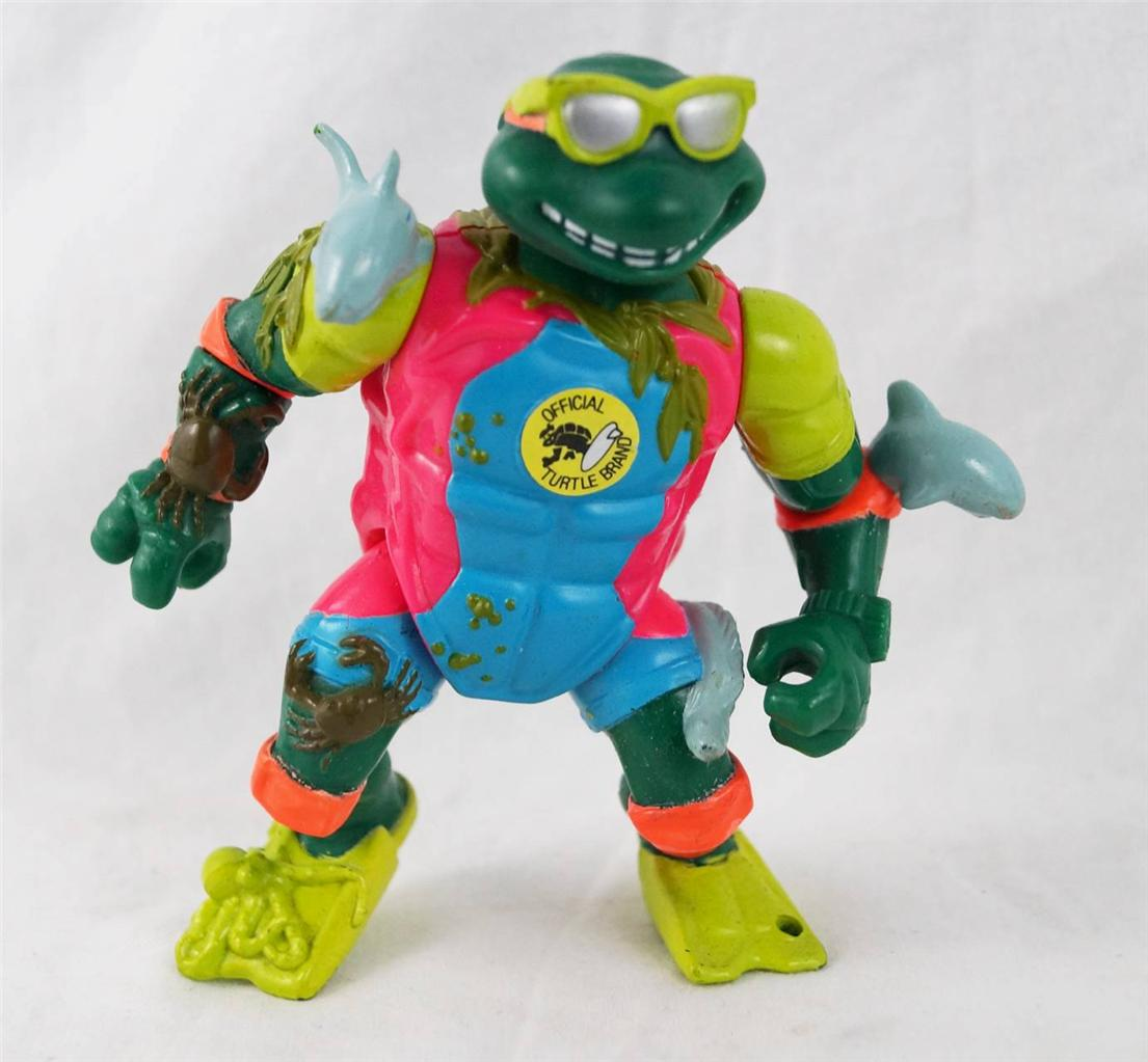 Vintage-TMNT-Teenage-Mutant-Ninja-Turtles-Mike-The-Sewer-Surfer