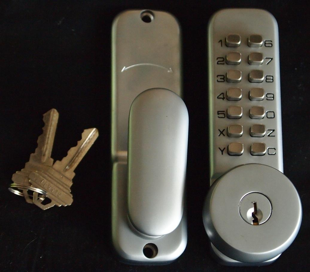 Keyless Mechanical Password Entry Door Lock With Keys Ebay