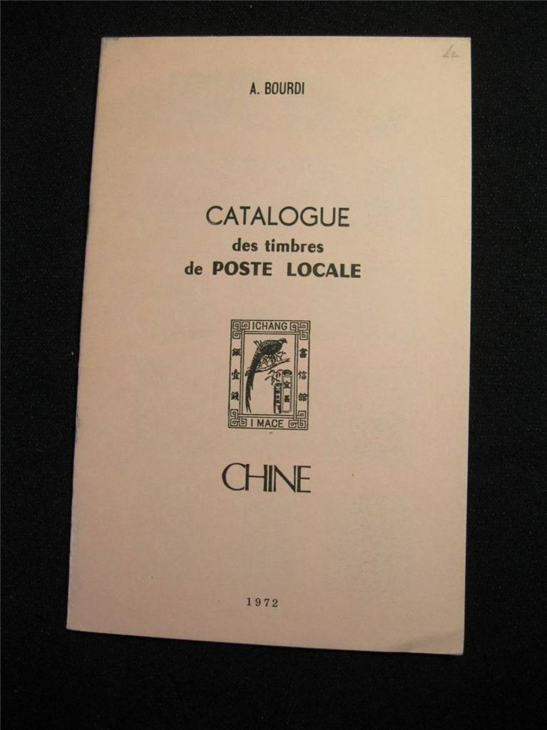catalogue des timbres de poste locale chine by a bourdi ebay. Black Bedroom Furniture Sets. Home Design Ideas