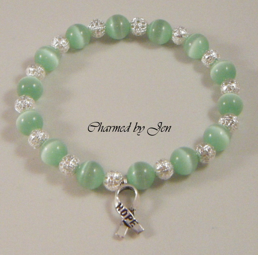 shop a lime canada hole open products bracelet supplies index large health spacers ribbon green campaign awareness party mental pk c
