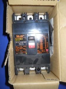 Fuji Sa103ba 50 Amp Circuit Breaker Nib Ebay