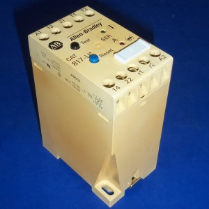 Allen bradley thermistor protection relay 817 ud ebay for Thermistor motor protection relay