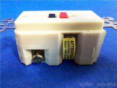 Leviton 6599 I Ground Fault Circuit Interrupter Ivory