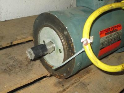 Reliance electric e line duty master ac motor w brake for Duty master ac motor