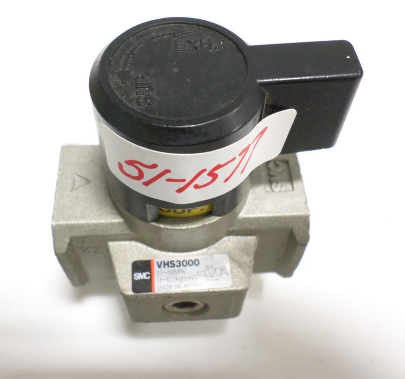 SMC SHUT OFF VALVE .01-1.0MPA VHS3000