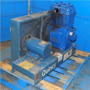 Quincy 270vac Air Compressor Size 4 5x4 Qv270sb5hp W
