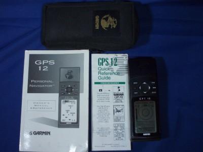 Garmin  on Garmin Gps 12 Personal Navigator Ex Cond
