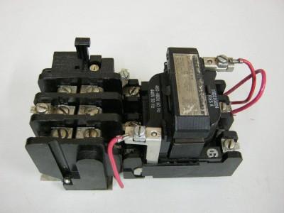Ge Cr306c1 Nema Size 1 Motor Starter 27 Amp 600 Vac 3