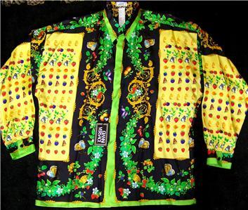 Gianni Versace Silk Shirts Men