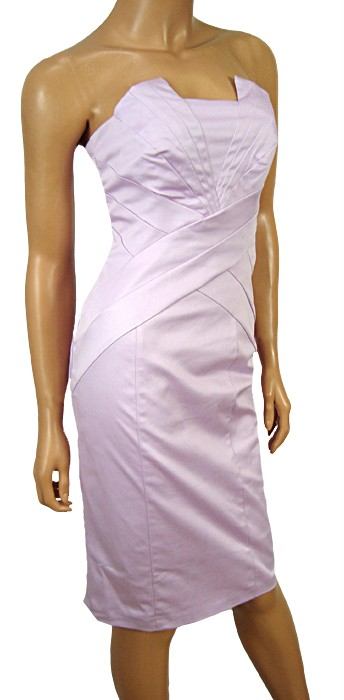NEW-YEN-LILAC-SATEEN-STRAPLESS-DRESS-SIZES-6-16-BNWT