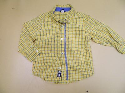 gap 3t plaid boys dress shirt yellow plaid toy story woody