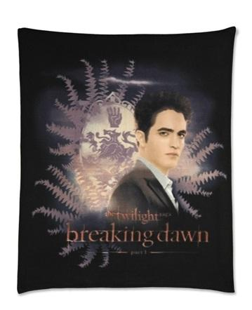 Twilight-Breaking-Dawn-Part-1-Fleece-Blanket-Edward-with-Crest-Ferns
