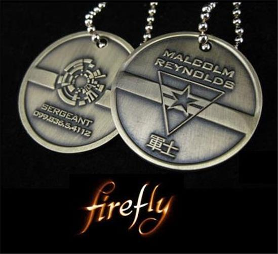Firefly-Malcom-Reynolds-Boxed-Dog-Tag-Prop-Replica-Set