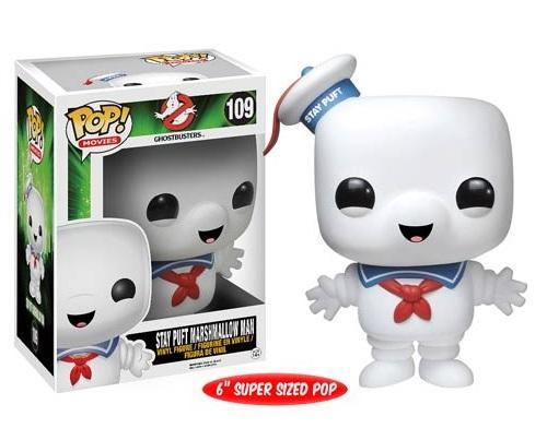 Ghostbusters-Stay-Puft-Marshmallow-Man-6-034-Pop-Vinyl-Figure