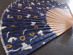 Japanese hand fan