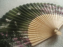 Japanese hand fan Main