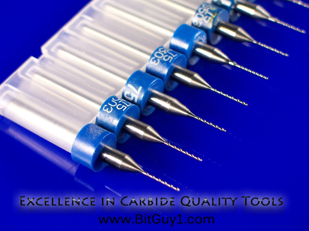 Solid Carbide Drill Bits 0.2mm to 1.15mm CNC PCB Jewelry