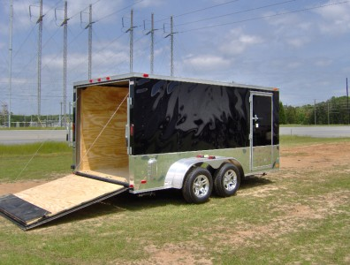16 Foot Toy Hauler Trailer http://cgi.ebay.com/ebaymotors/7x14-enclosed-toy-hauler-cargo-motorcycle-trailer-NEW-pick-up-GA-2ft-v-nose-16-/121115823021