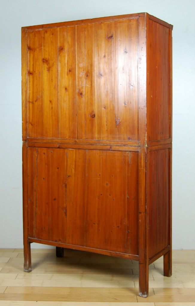 Antique Kitchen Pantry Cabinet Fujian Chinese Pine Wood Chest Hutch 71x38x20 Ebay