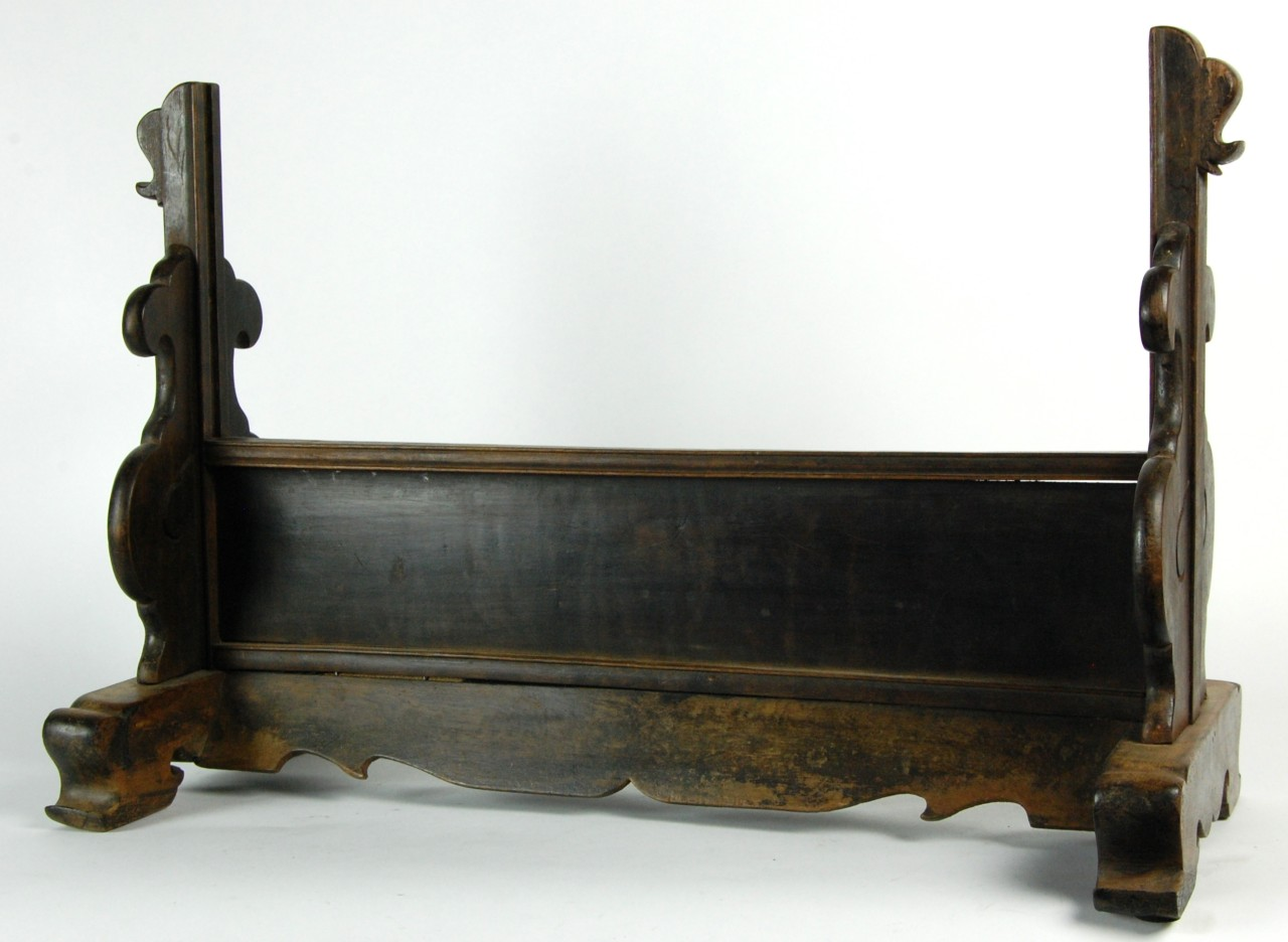 Antique chinese vanity mirror elm rosewood frame glass for Vanity stand