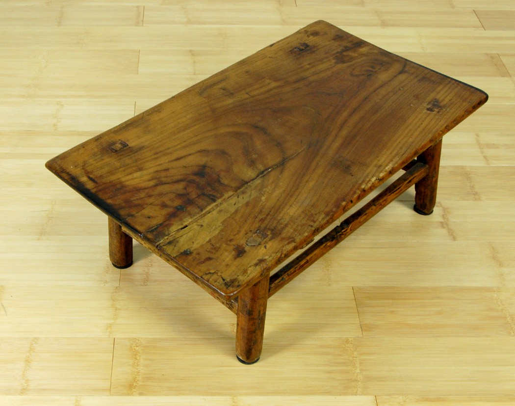 Antique Rustic Coffee Table Wood Stand Altar Display Ebay