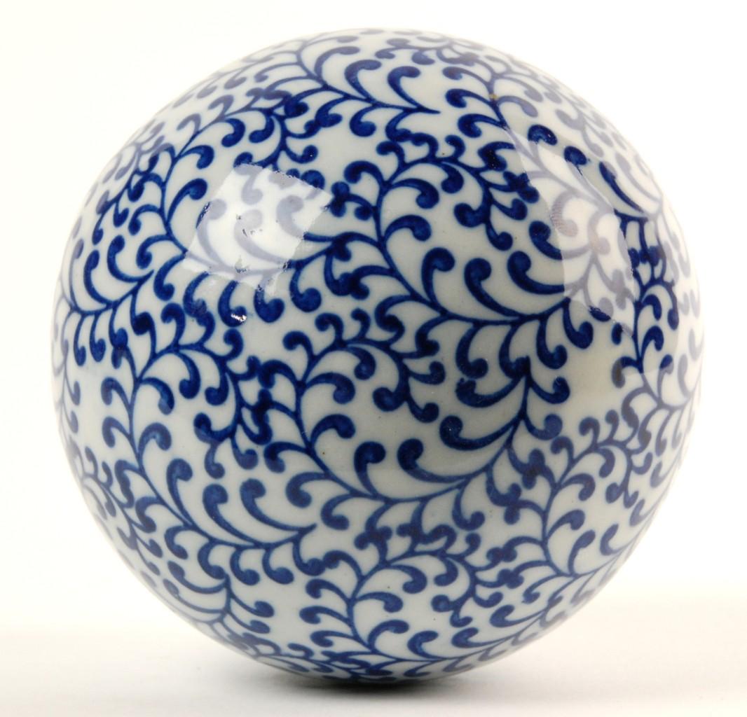 Ceramic sphere decorative orb globe ball home gift quot f ebay