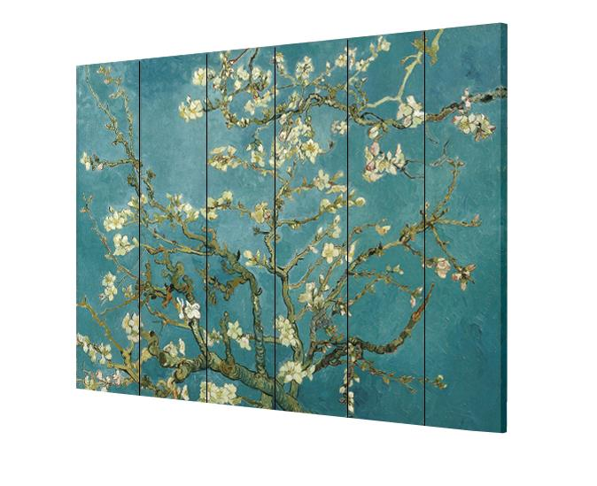 6 Panels 6ft Tall Canvas Art Double Sided