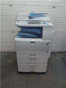 how to scan and send to email on ricoh printer