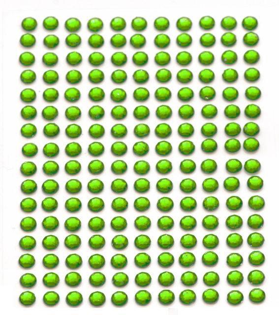352 Self Adhesive Diamante Stick On Rhinestones Gems Crystals Beads sizes 2-5mm