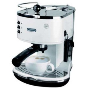 Delonghi Coffee Maker Eco310 : DeLonghi Icona White Espresso Coffee Maker - ECO310.W eBay