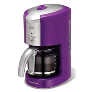 Morphy Richards Purple Filter Coffee Maker / Machine - 47057 eBay
