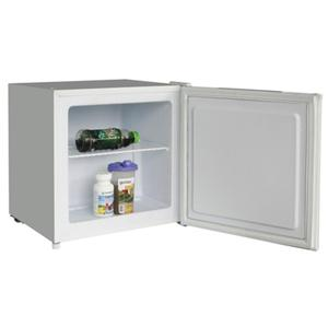 Igenix white small counter table top freezer with lock for Table top freezer