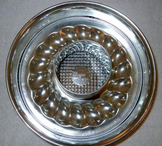 Insert on bottom of springform pan