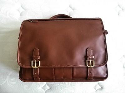 Nwt Coach Vintage Tan Leather Lg Express Organizer