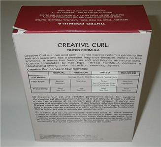 redken creative curl perm instructions