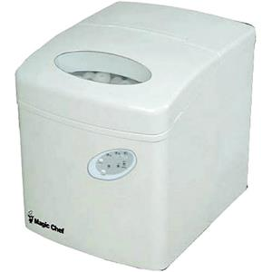 Large Countertop Ice Maker : ... Chef Compact Portable Countertop Ice Maker in White MCIM22TW eBay