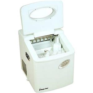 Cabelas Countertop Ice Maker Reviews : ... Chef Compact Portable Countertop Ice Maker in White MCIM22TW eBay