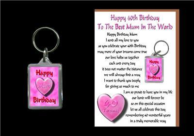 40th Birthday Ideas: 40th Birthday Gifts Mum