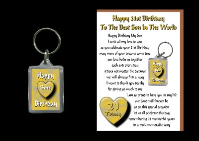 Similiar Happy 21st Birthday Son Keywords – Son 21st Birthday Cards