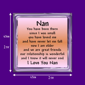 Details about Nan Verse Magnet - Birthday - I Love You - Thank You ...