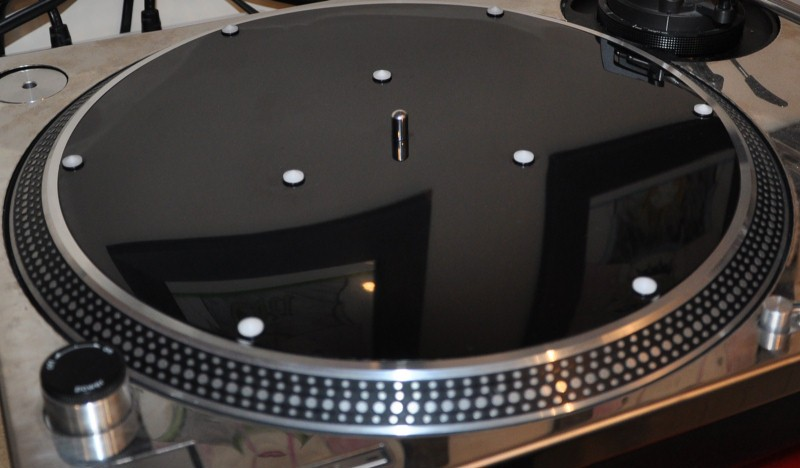 RESO-MAT-TURNTABLE-PLATTER-MAT-FOR-TECHNICS-SL1200-GARRARD-401