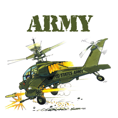 Helicopter Tshirts - Many Designs Available - Armed Forces Military ...